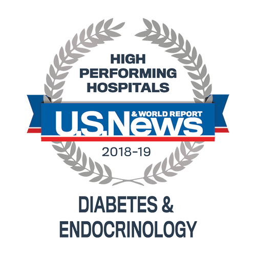 U.S. News & World Report Award for Diabetes & Endocinology